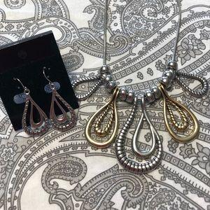 Jewelry - ⬇️ 5 tier pendent set - 2 tone